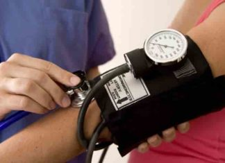 Diagnosis of high blood pressure