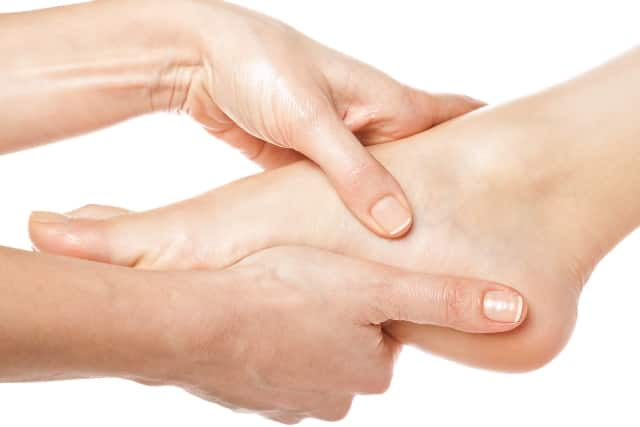 Muscle strengthening and flexibility exercise for pain in arch of foot