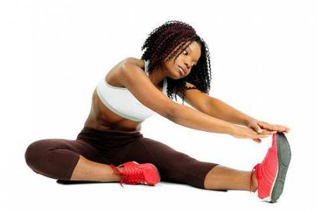 Stretch and exercise regularly to get taller