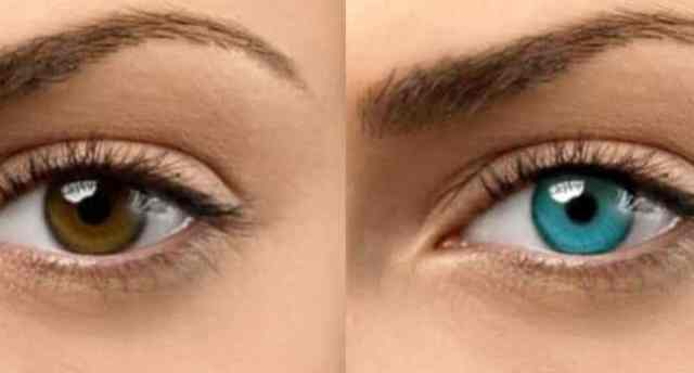 Can you change your eye color