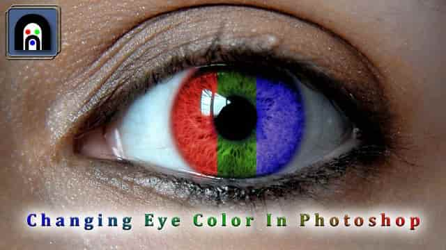 You can change your eye color in picture with Photoshop app