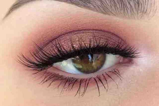 You can change your eye color by applying an appropriate eyeshadow