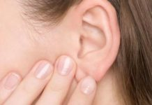 Water trapped in ear may cause discomfort or infections